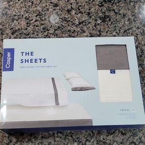 Casper The Sheets 100% Supima Cotton Sheet Set